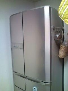 冷蔵庫キター